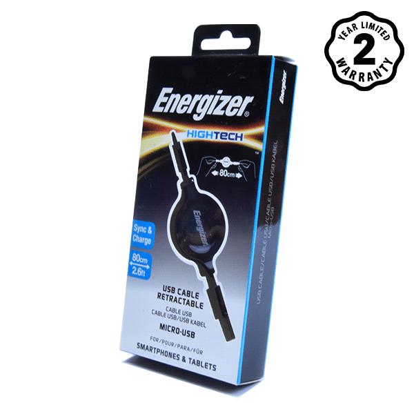 Energizer cable Micro USB Ret (80cm) hình 2