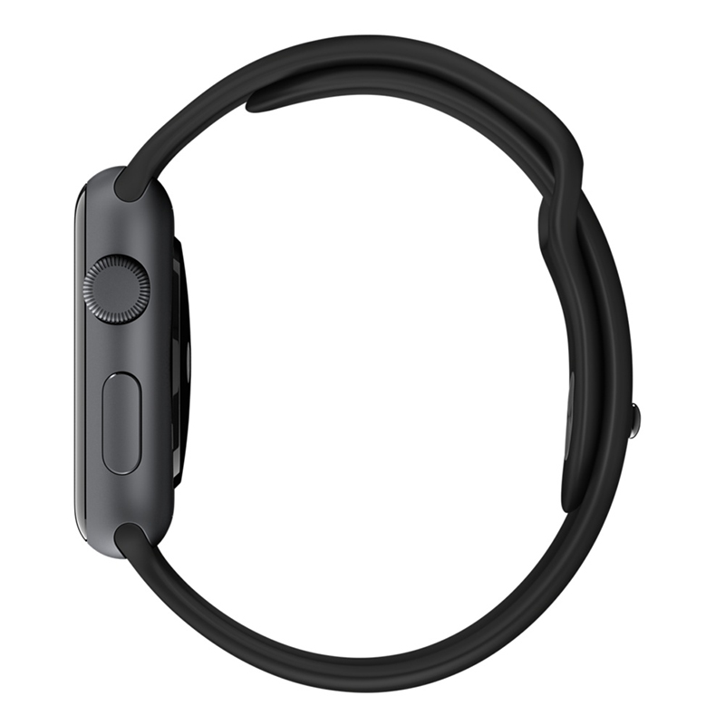 Apple Watch Sport With Black Sport Band (42mm) MJ3T2 hình 3