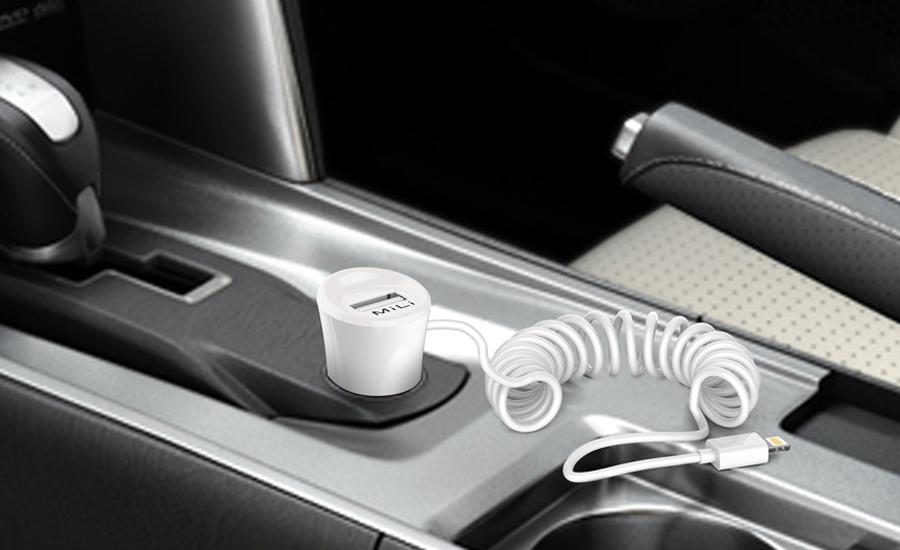 Sạc xe hơi Mili Smart Plus (2.4A) hình 3