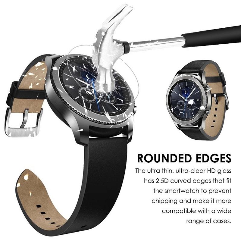 Dán cường lực Glass Pro Đồng hồ Samsung Gear S3 hình 2