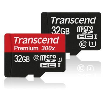 Thẻ nhớ Transcend MicroSDHC 32GB Class 10 UHS-1 Premium hình 0