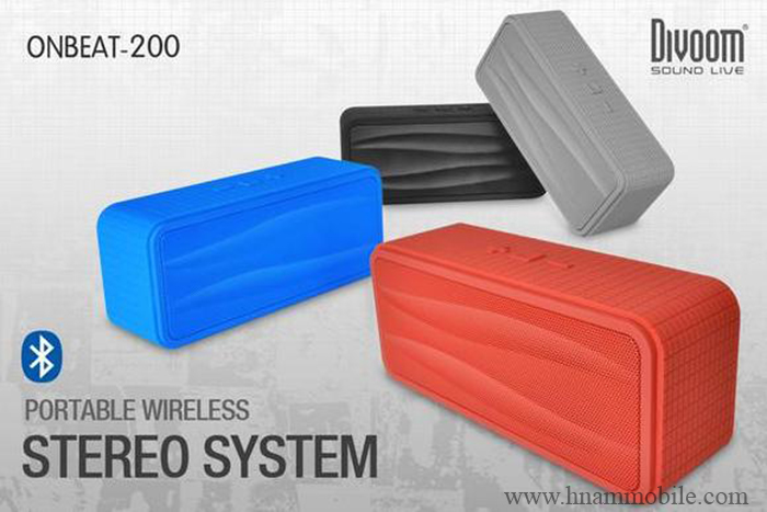 Loa Bluetooth Divoom Onbeat-200 (Có micro) hình 3