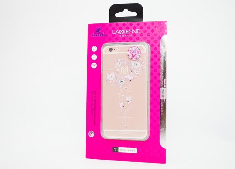 Ốp lưng Case Cube TPU Heart iPhone 6/6s hình 3