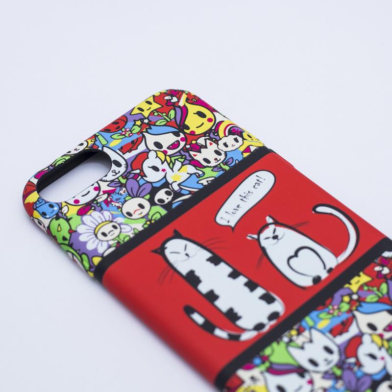Ốp lưng Umku Super Cat iPhone 7 Plus hình 2