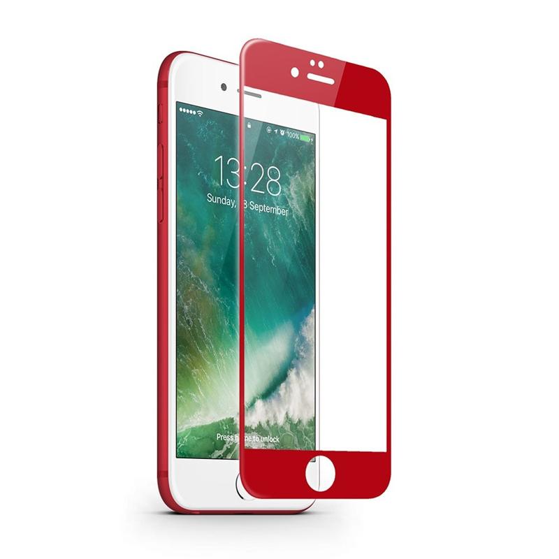 Cường lực JCPAL iPhone 7 (Full màn hình) RED hình 2