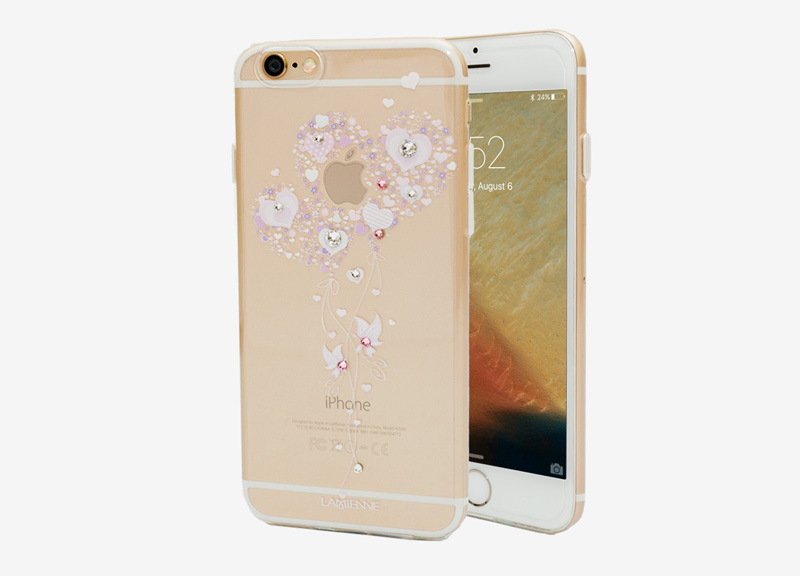 Ốp lưng Case Cube TPU Heart iPhone 6/6s hình 0
