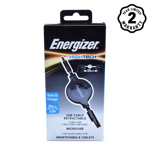 Energizer cable Micro USB Ret (80cm) hình 3