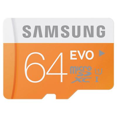 Thẻ nhớ Samsung MicroSDHC 64GB Class 10 EVO UHS-1 hình 0