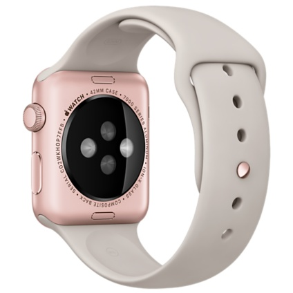 Apple Watch Sport with Stone Sport Band (42mm) Rose Gold MLC62 hình 4