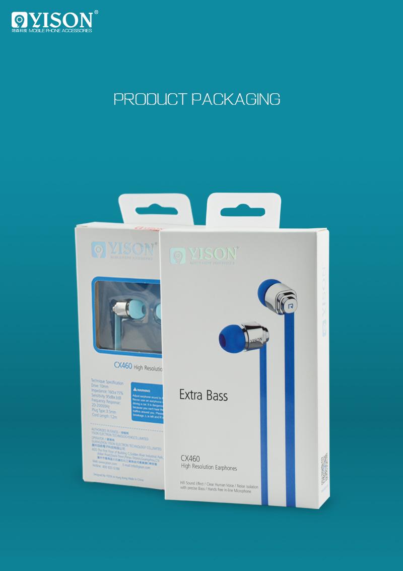 Tai nghe Yison CX 460 (hỗ trợ iOS) hình 4