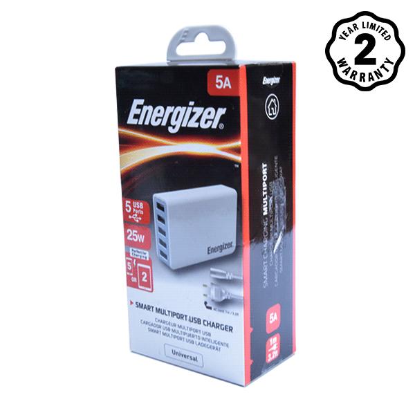 Sạc Energizer 5 cổng USB Station 25W EU hình 1