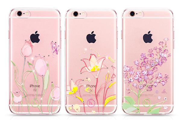 Ốp lưng Hoco TPU Flower iPhone 6/6S (TPU hoa) hình 8
