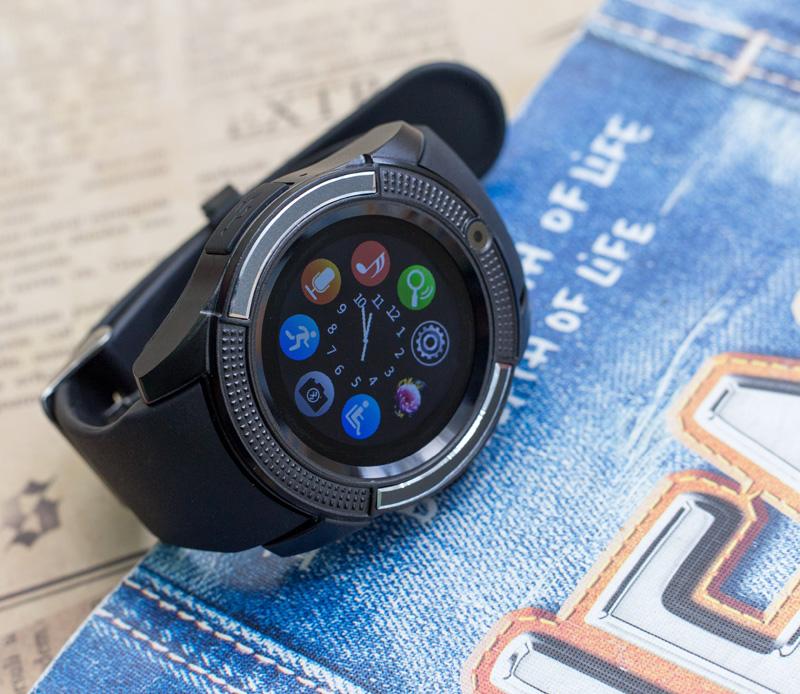 Đồng hồ thông minh V8S - JC30 hỗ trợ khe sim và thẻ nhớ hình 4