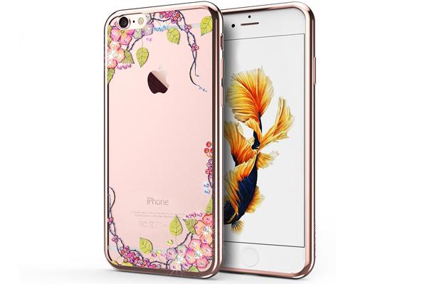 Ốp lưng Case Cube TPU Blossom iPhone 6/6S hình 0