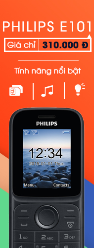 Right - Philips E101