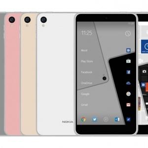 Ảnh Nokia C1 dáng phẳng, nhiều màu sắc