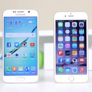 Apple iPhone 8 và Galaxy S8 có nhiều điểm chung