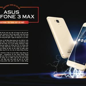 Asus Zenfone Max - smartphone sở hữu năng lượng khủng nhất 2016