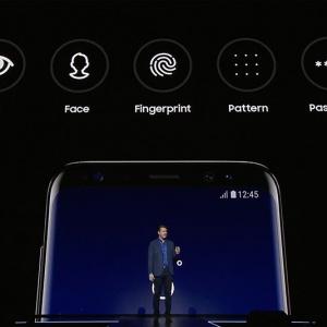 Bảo mật trên điện thoại Samsung Galaxy S8: An toàn tuyệt đối