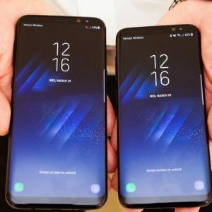 Cách chụp màn hình trên bộ đôi di động Samsung Galaxy S8/S8+