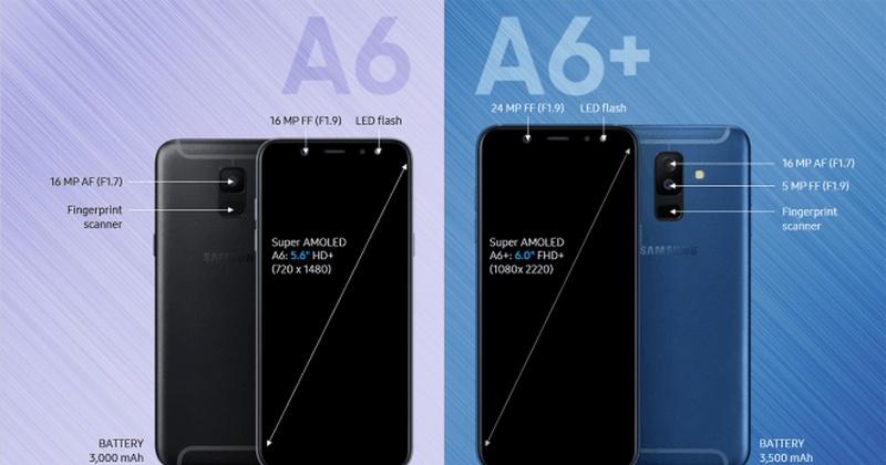 Bạn sẽ thích hợp với Galaxy A6 hay A6+ hơn?