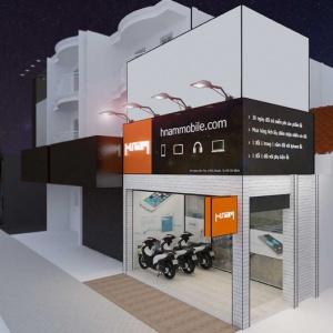 Chiêm ngưỡng concept showroom Hnam Mobile thứ 18