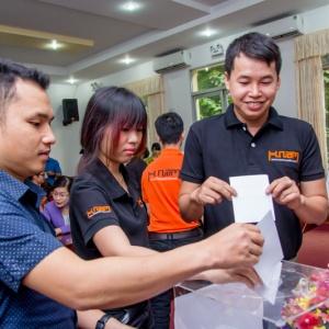 Đại hội công đoàn cơ sở công ty TNHH TM DV Di Động Sao Việt nhiệm kỳ 2016 - 2021