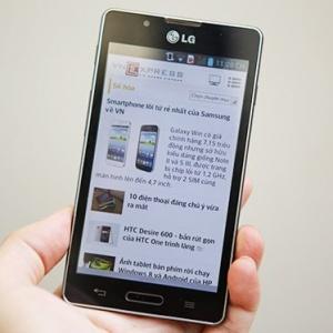 Đánh giá smartphone tầm trung LG Optimus L7 II