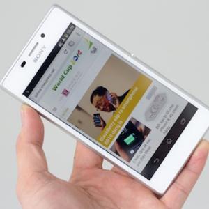 Đánh giá Sony Xperia M2 - smartphone tầm trung dáng đẹp