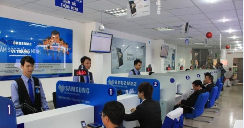 Danh sách trung tâm bảo hành Samsung tại Việt Nam