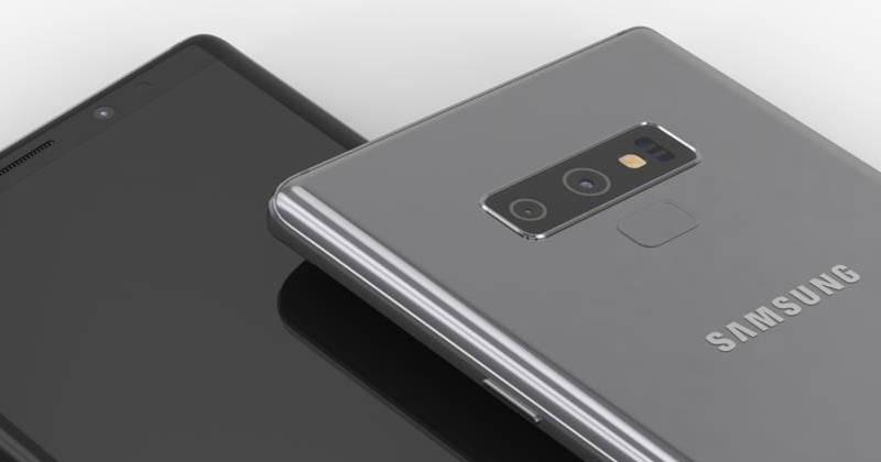 Đây là chắc chắn là mặt trước của Galaxy Note 9???