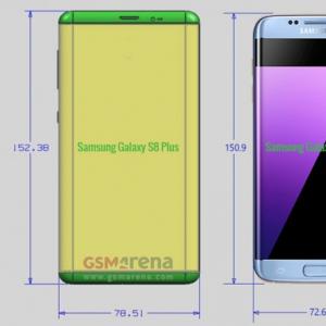 Điện thoại Samsung Galaxy S8 lên kệ tháng 4/2017, giá dự kiến849 USD