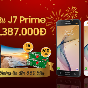 Độc quyền tại Hnam: Sắm Kẻ hủy diệt Samsung Galaxy J7 Prime với giá chỉ 1.387.000đ