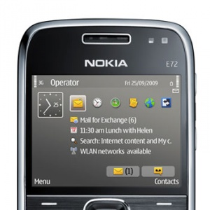 E-mail hiệu quả với Nokia E72