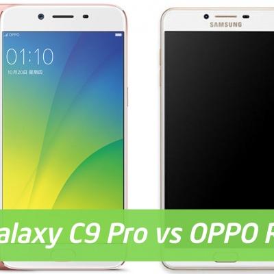 Galaxy C9 Pro và OPPO R9s Plus: Có phải là chị, em sinh đôi?