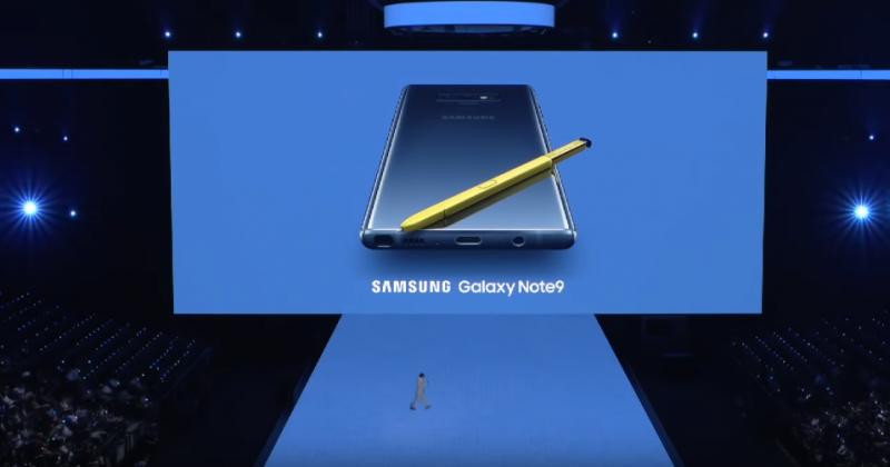 Galaxy Note 9 chính thức ra mắt: S Pen mới, pin 4000 mAh, ROM 512GB