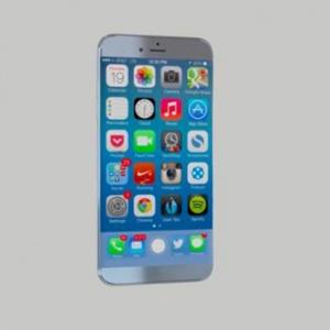 Hình ảnh iPhone 8 concept với thiết kế long lanh