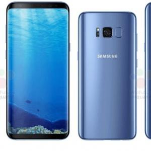 Hình ảnh và thông số kỹ thuật đầy đủ của điện thoại Samsung Galaxy S8, Galaxy S8 Plus