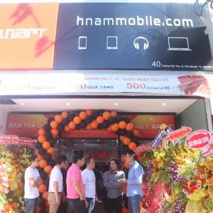 Hnam Mobile khai trương cửa hàng thứ 18, đổi nhận diện thương hiệu