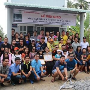 Hnam Mobile tài trợ CFC trao nhà tình thương và quà Tết cho bà con ở Cà Mau