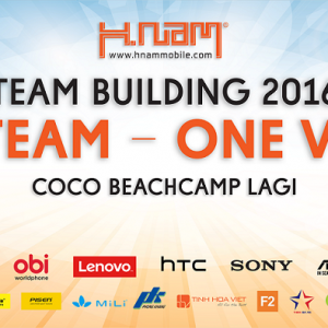Hnam Mobile Team Building 2016: One team - One vision