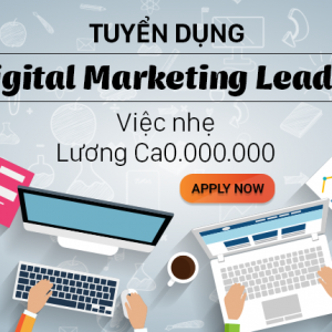 Hnam Mobile tuyển dụng: Digital Marketing Leader