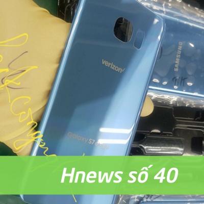 Hnews số 40: Galaxy S7 edge Blue Coral ra mắt, Xiaomi Mi Note 2 lộ diện.