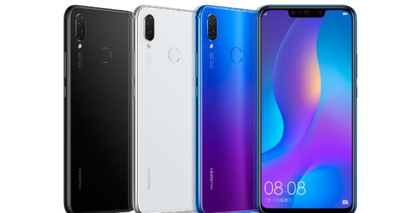 Huawei Nova 3 và 3i ra mắt: 4 camera, màn hình 6.3 inch, giá từ 6.9 triệu