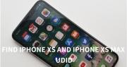 Hướng dẫn cách lấy thông tin UDID của Apple iPhone Xs Max chính hãng