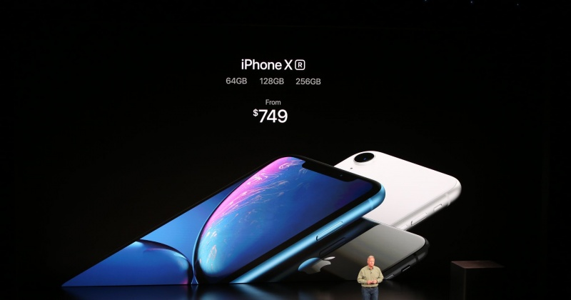 iPhone Xr ra mắt: màn hình LCD 6.1 inch, nhiều màu sắc, giá từ 749 USD