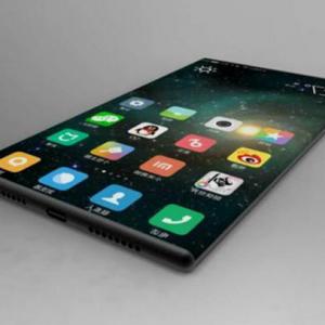 Lộ ảnh điện thoại Xiaomi Mi MIX 2 không viền, camera selfie