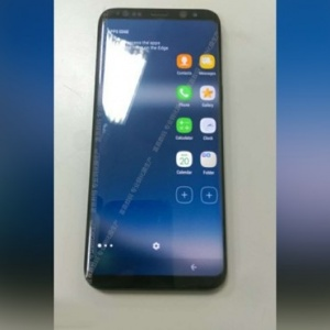 Lộ ảnh thực tế điện thoại Samsung Galaxy S8: viền siêu mỏng, có thư mục bí mật