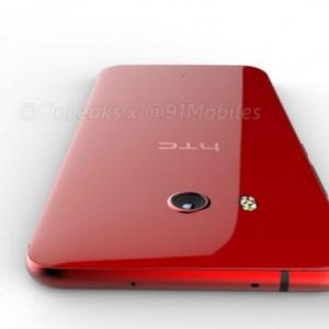Lộ diện HTC U11 màu đỏ không có cổng 3.5mm