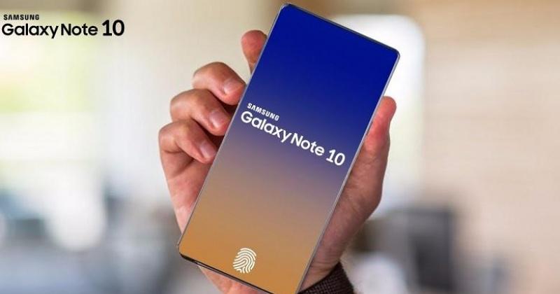 Màn hình Samsung Galaxy Note 10 viền siêu mỏng cực sang trọng
